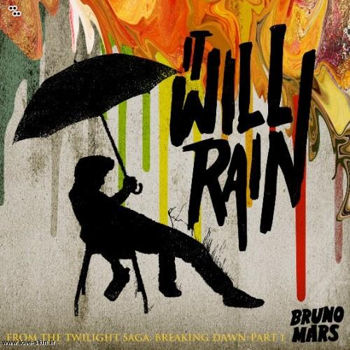"""ترجمه متن آهنگ It Will Rain """"میبارد"""" از Bruno Mars"""